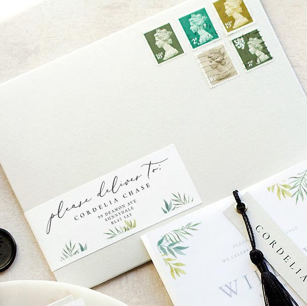 address printing (luxury Envelope)