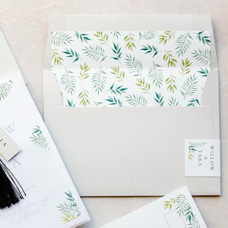 envelope liner (luxury Envelope)