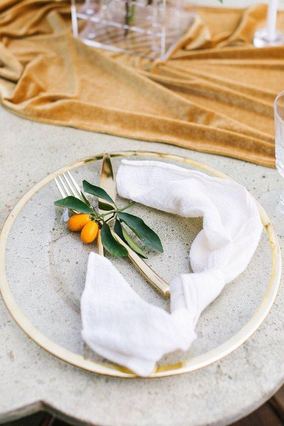 Citrus Orange Wedding Plate Decor 8.jpg