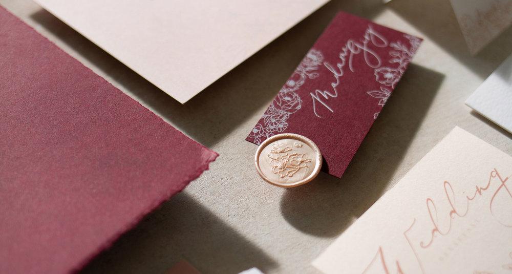 Blush Pink Illustrated Wedding Invitation and Stationery.jpg