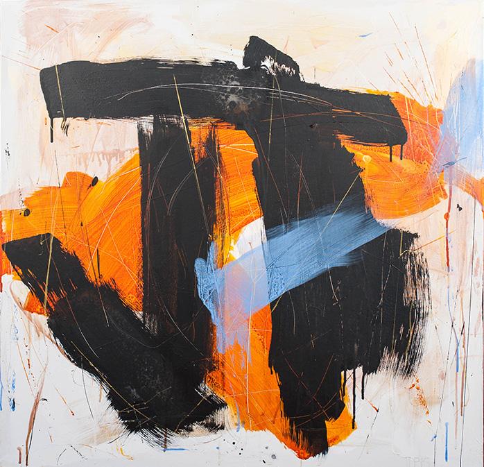 "ink | acrylic 36""x36"" 2015"
