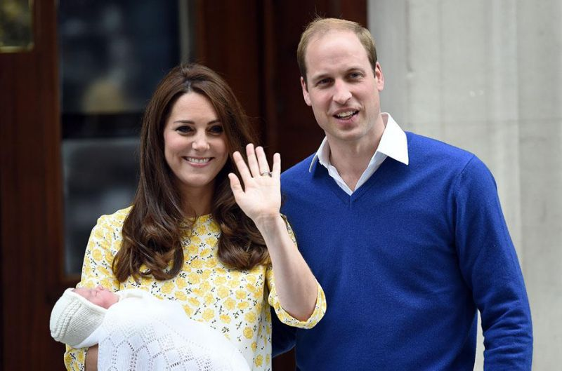 The royals welcomed Charlotte in May. (Image: GettyImages)
