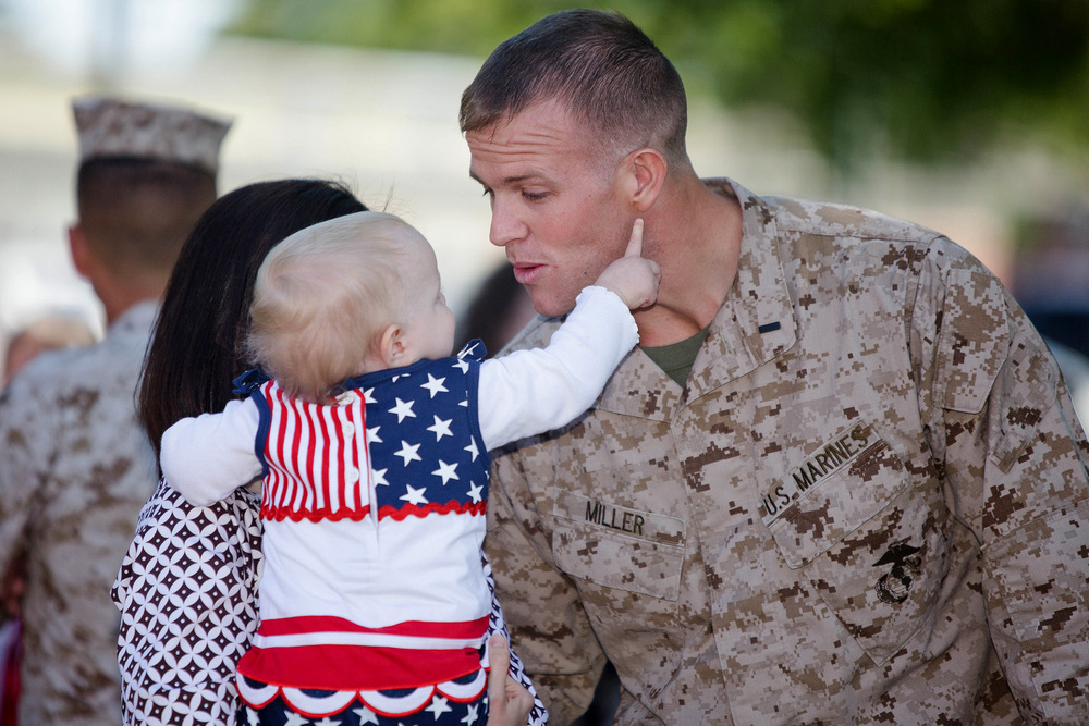 Four Reasons Marines Are Good Role Models For Dads
