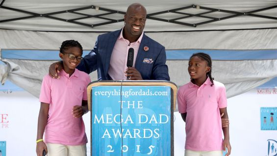 WWE's Titus O'Neil: Why Strong Fathers Shouldn't Be Afraid To Cry