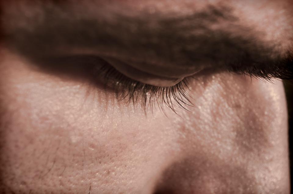 man, face, botox, skin