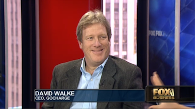 David Walke, CEO of goCharge, discusses his mobile charging innovation on FOX Business.
