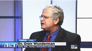 Dr. Wunderman, Executive Director of Family Resource Center, is a guest on CBS 4 News - Focus on South Florida.