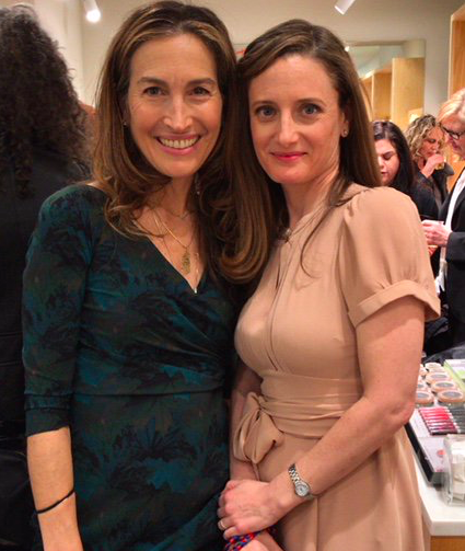 Co-authors of Plant-Powered Beauty, Amy Galper and Christina Daigneault, at Credo Beauty, SoHo, for the NYC book launch.