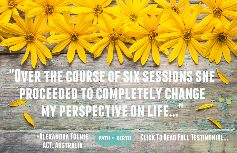 Client Referral/Testimonial Path to Birth Life Coaching Fertility