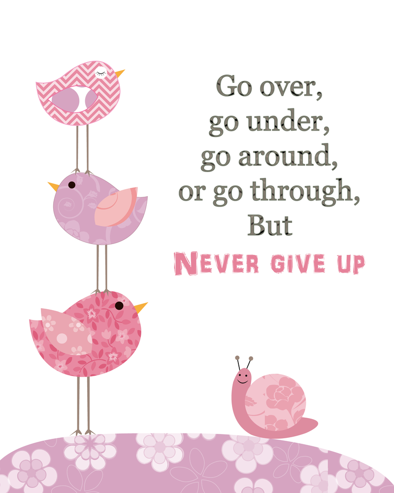 Never Give Up TTC Fertility IVF Infertility Pregnancy