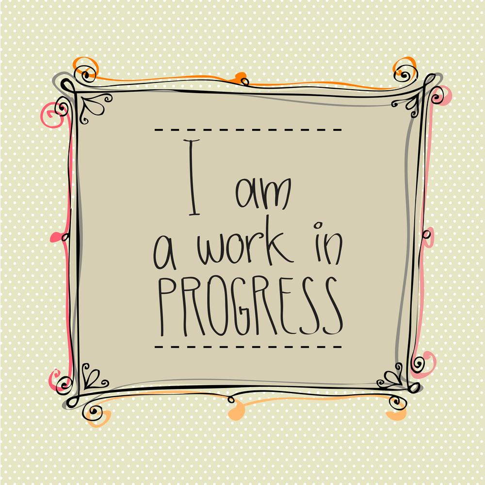 Monday Musing Path to Birth TTC Work in Progress