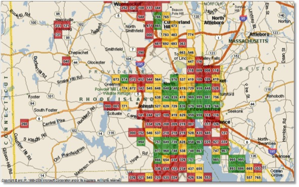 Geo Strategies FlexQuad mapping provides invaluable imagery to locate exact low risk targets for sales efforts.