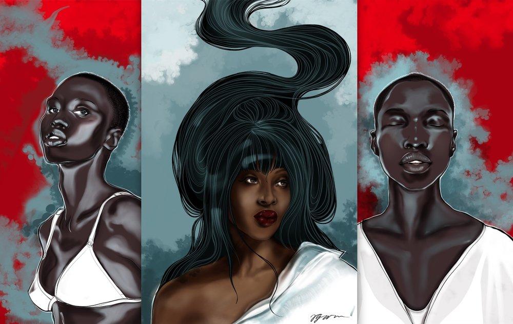 Giannina Oteto, Naomi Campbell -the hashtag #melanin