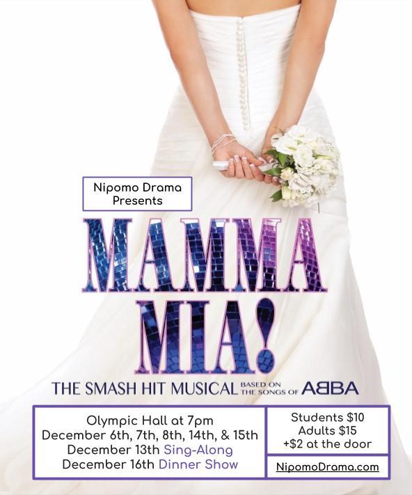Mamma Mia At Nipomo High School Big Big Slo