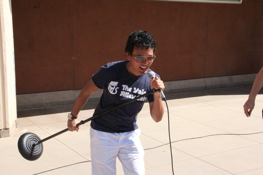 Ehrik Aldana ('15+1) rocks out