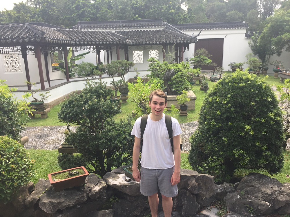 Our most kawaii junior, Thomas, explores the Singapore Japanese Gardens
