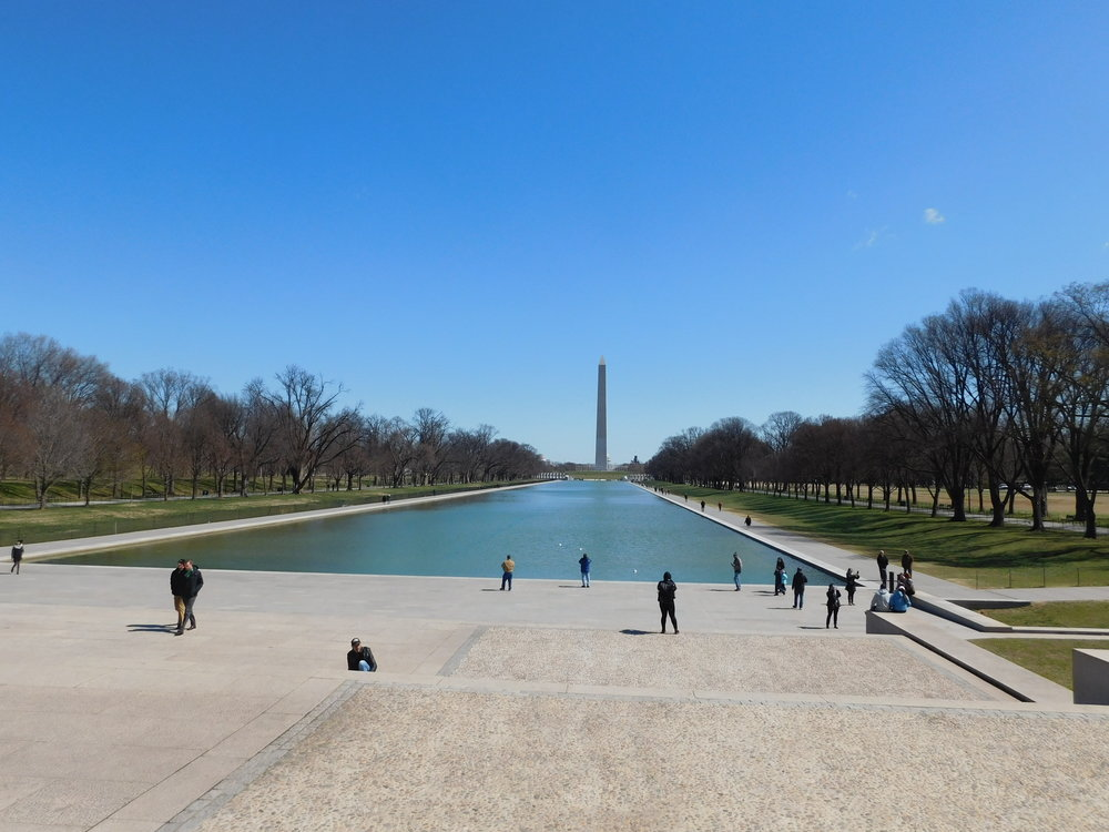 The Washington Monument and National Mall