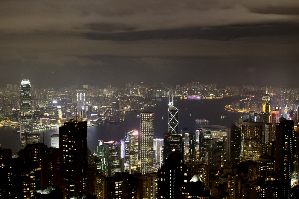 View of Hong Kong from Victoria's Peak