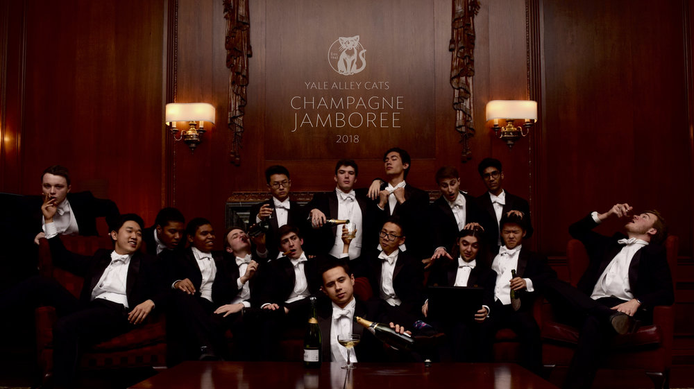 Promotional photo for our 74th Annual Champagne Jamboree