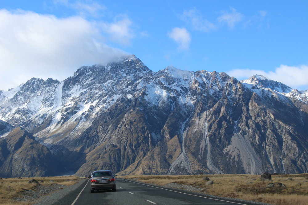 On the road to Christchurch