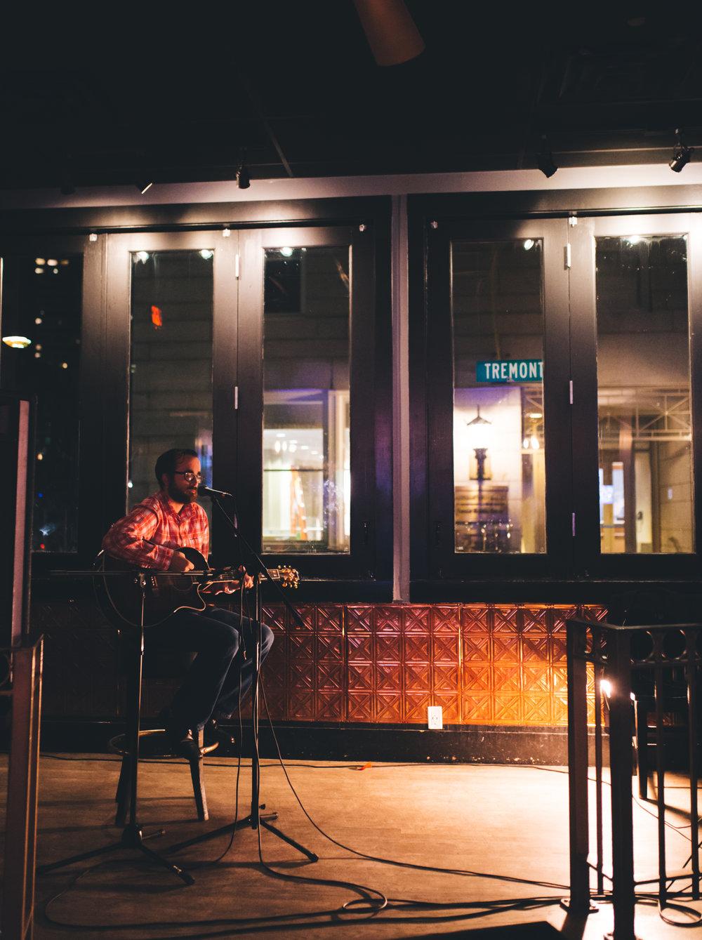 Dan Devlin - 6B Lounge Open Mic in Boston