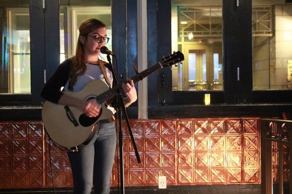 Zoey Pierce - 6B Lounge Open Mic in Boston