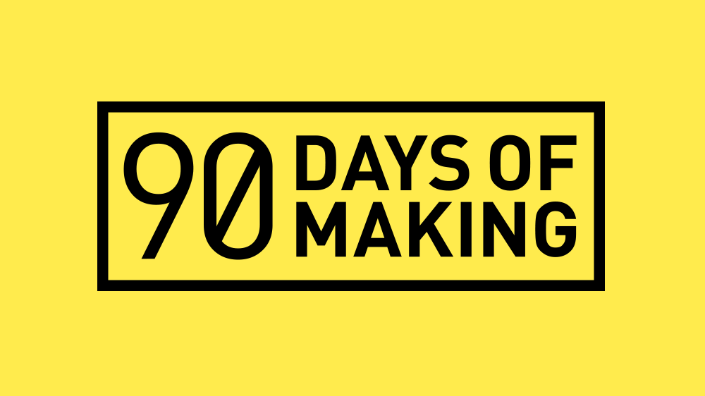 An endurance creativity blog. Matt and I made something every day for 90 days.
