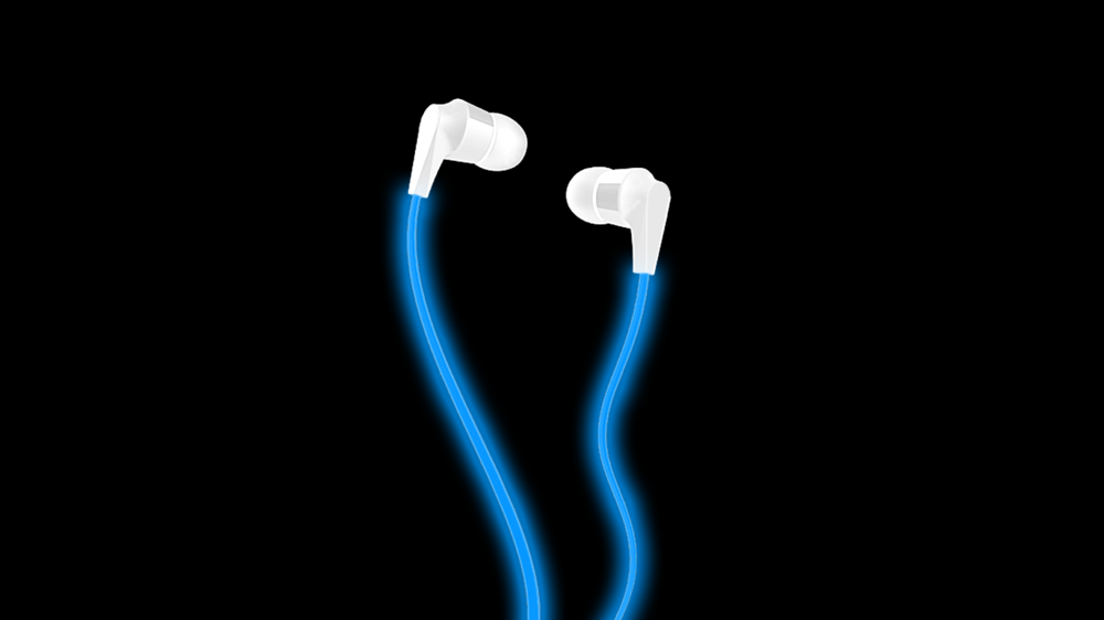A concept and prototype for Eyephones, earbuds that are a little more social.