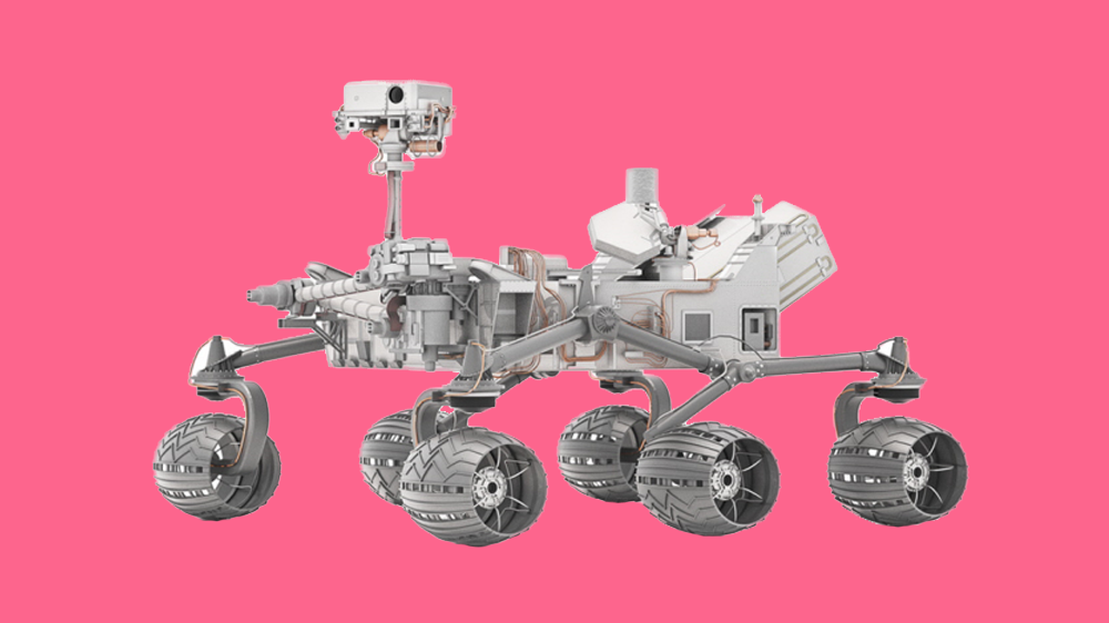 Concept for Lonely Rover, a NASA rover that explores Earth and live streams to web.