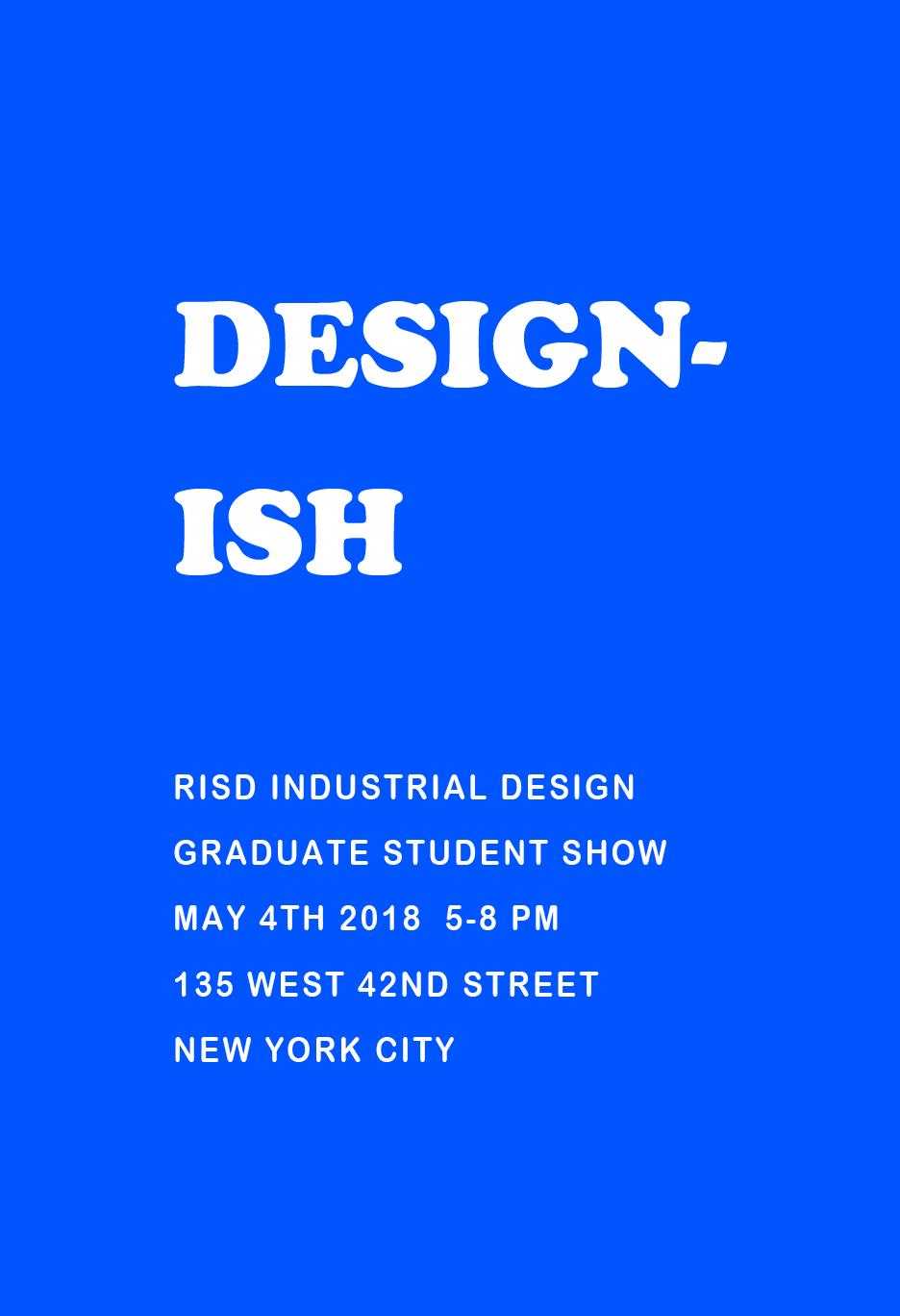 2018SP.GradThesisMaking.Designish.Pittman_Dave.NYC Designish Poster.png