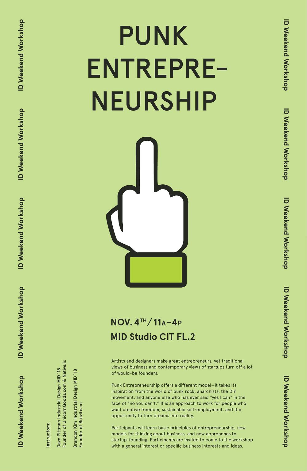 Punk Entrepreneurship Weekend Workshop.png