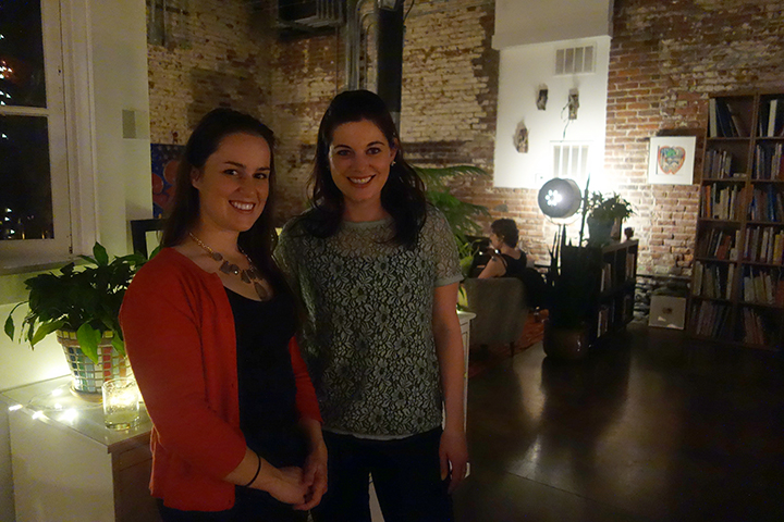 Co-host, Corinne Hursh of  Corrine Hursh Events  and  Liz Duggan   of  Amenity Aid .
