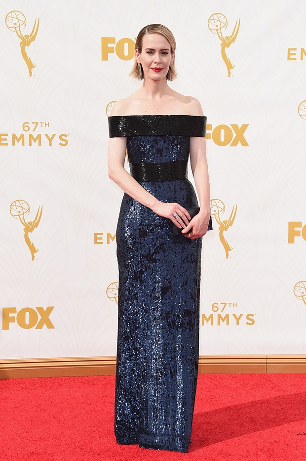 Sarah Paulson at the 67th Emmy awards - 2015