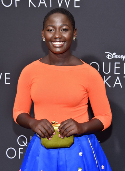 Queen of Katwe's young star, Madina Nalwanga at her movie premiere - 2016