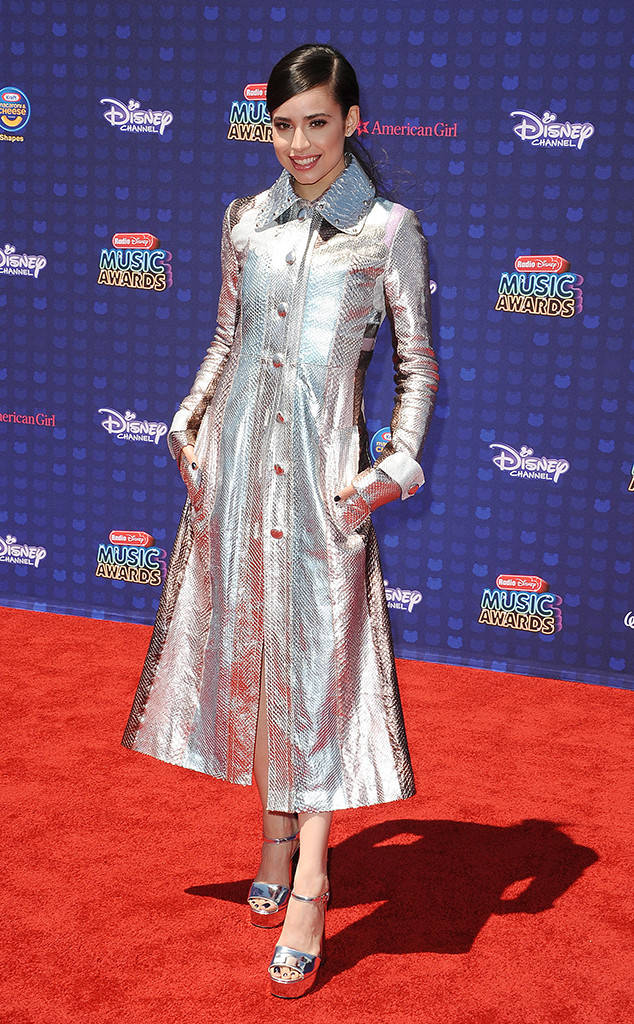 Sofia Carson Gracing the carpet of the Radio Disney Music Awards 2017