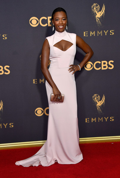 Samira Wiley attending the 69th Annual Primetime Emmy Awards 2017