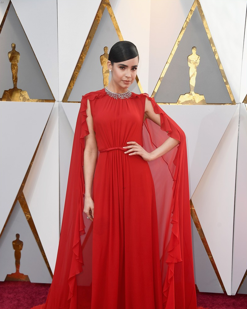 Sofia Carson At the 2018 Oscars