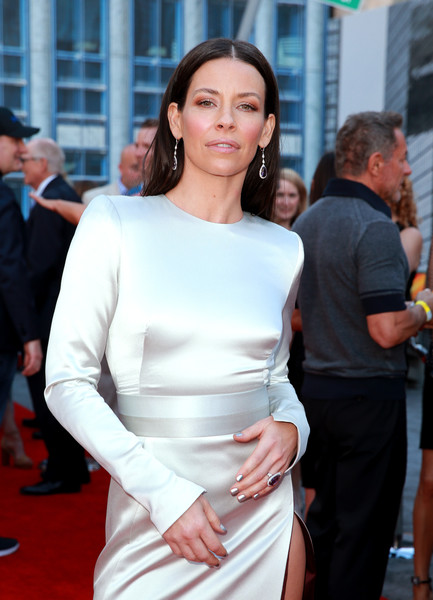Evangeline Lilly Attending her premiere of Ant-Man and the Wasp
