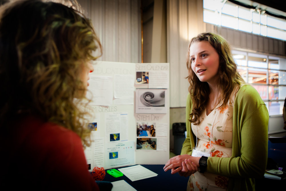 Chloe Puglisi -  Chloe Puglisi is 18 and in 12th grade at The MASTER'S Program. Born/raised/lived in Santa Fe. Chloe is interested in behavioral neuroscience research and data analysis through complex systems. This mentorship allowed Chloe to build stronger relationships in the community. Through Inspire, Chloe has encountered many opportunities that she is incredibly grateful for.