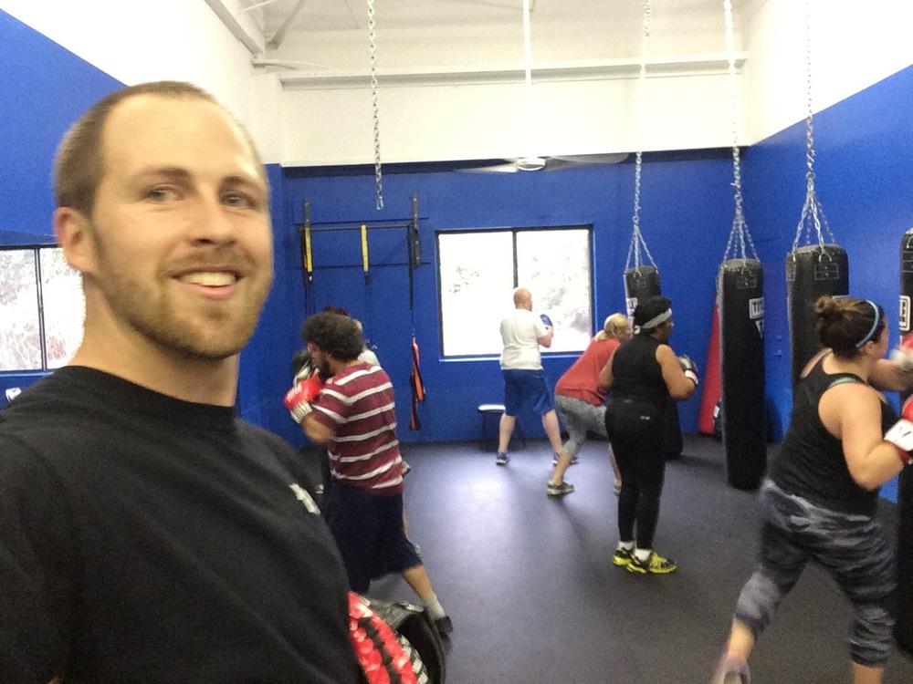 Scott Middleton - 2 years Boxing Exp