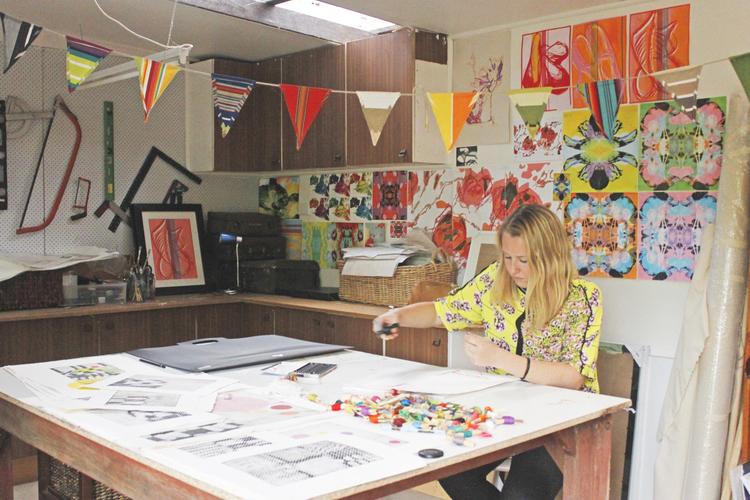 Madeline Young Artist Studio