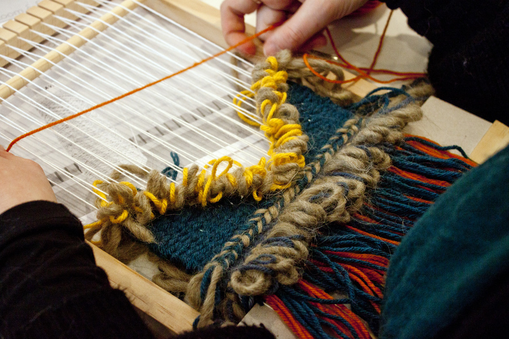 Loom Weaving Workshop - Madeline Young