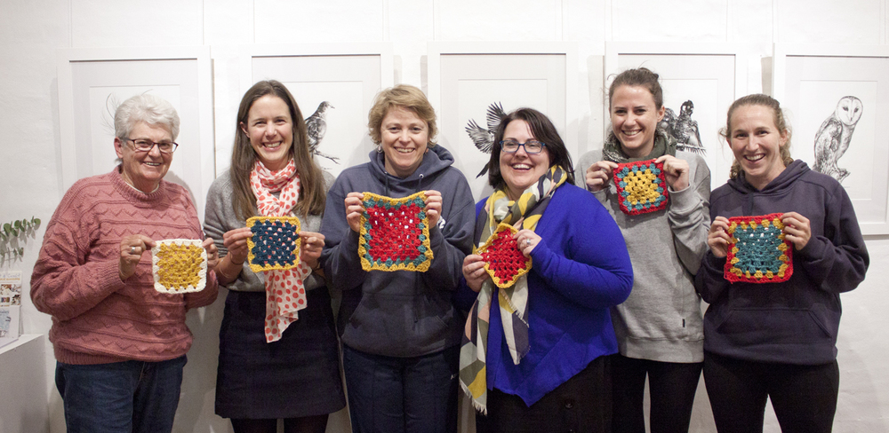 Crochet workshop Madeline Young