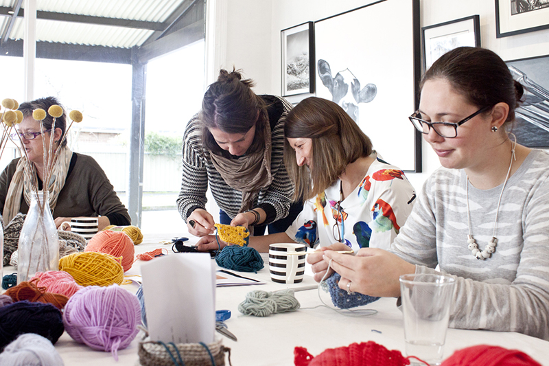 Beginners Crochet Workshop - Madeline Young