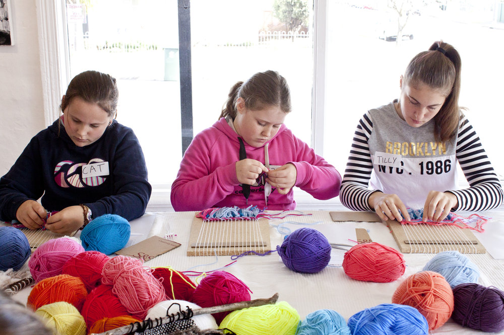 Kids Weaving Workshop with Madeline Young