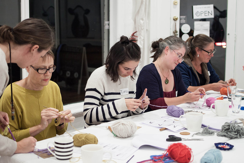 Beginners Crochet Workshop with Madeline Young