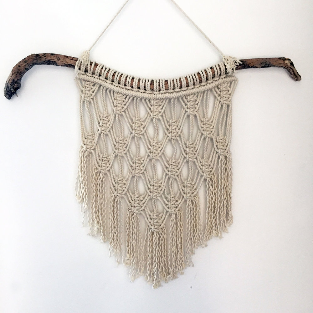 Macrame Wall Hanging Workshop - Madeline Young