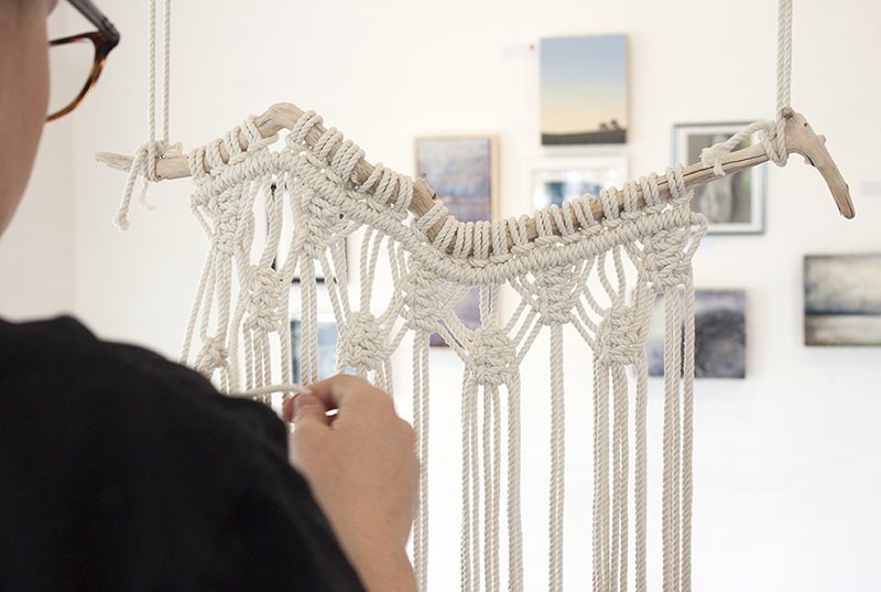 Madeline Young - Macrame Wall Hanging Workshop