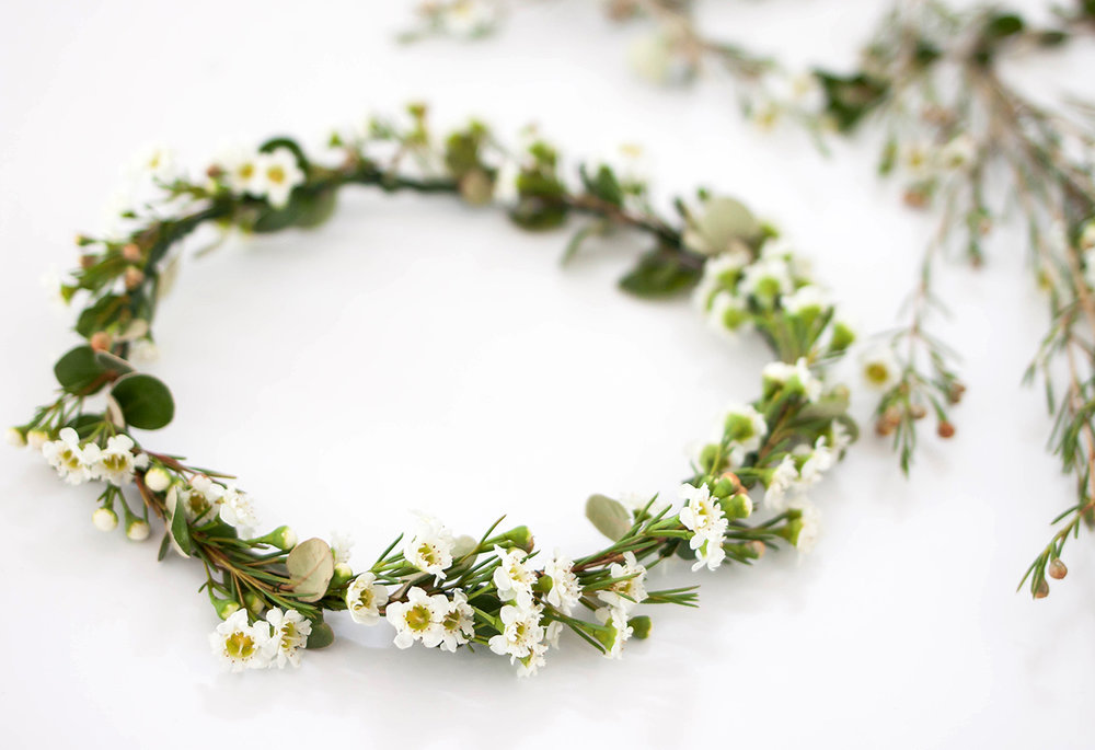 DIY Flower Crown with Madeline Young