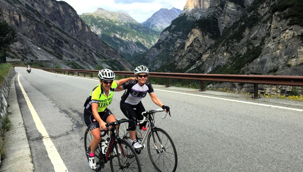 Climbing the Stelvio Pass